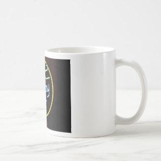 Neon Jukebox Sign Classic White Coffee Mug