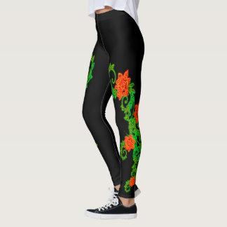 Neon Mums Leggings
