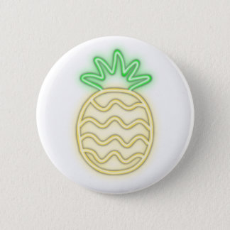 NEON PINEAPPLE cute shirts, accessories, gifts 6 Cm Round Badge