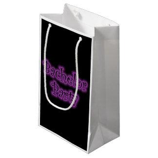 Neon Purple Bachelor Party Gift Bag