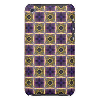 Neon Quilt Pattern iPod Touch Case