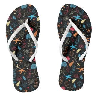 Neon Reef Flip Flops Thongs