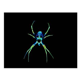 Neon Spider Postcard