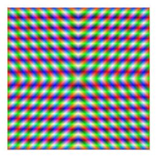 Neon X Photo Print