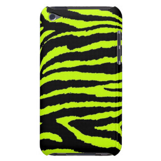 Neon Zebra iPod Case