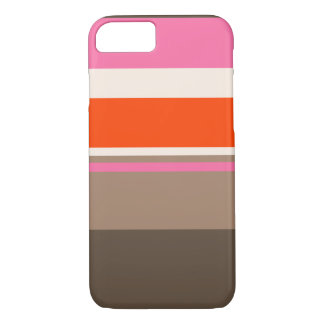 neopolatian striped cute iPhone 7 case