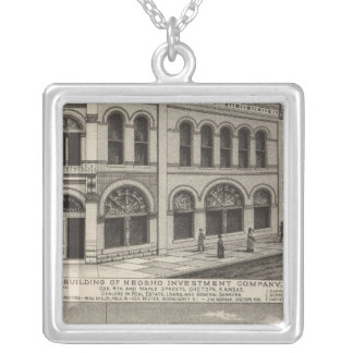 Neosho Investment County, Kansas Silver Plated Necklace
