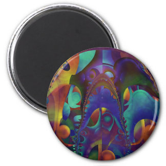 Neoteric Muse 6 Cm Round Magnet
