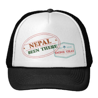 Nepal Been There Done That Cap