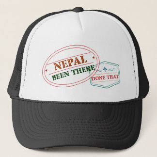 Nepal Been There Done That Trucker Hat