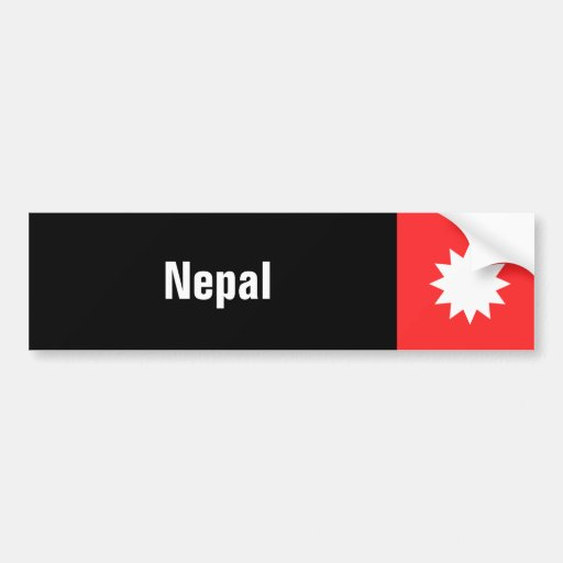 Nepal Bumper Stickers
