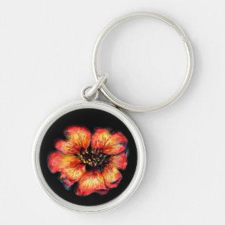 Nepal Cinquefoil Flower Keychain