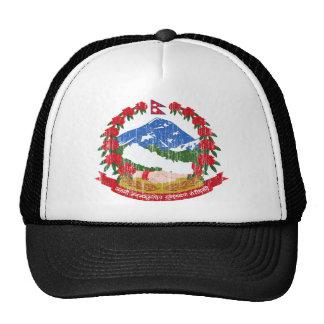 Nepal Coat Of Arms Cap