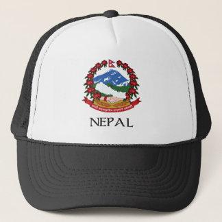 Nepal Coat of Arms Trucker Hat
