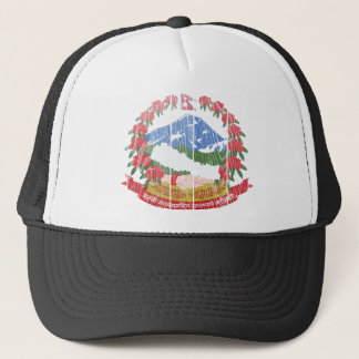 Nepal Coat Of Arms Trucker Hat