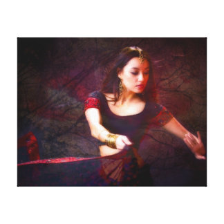 Nepal Dancer Gallery Wrapped Canvas