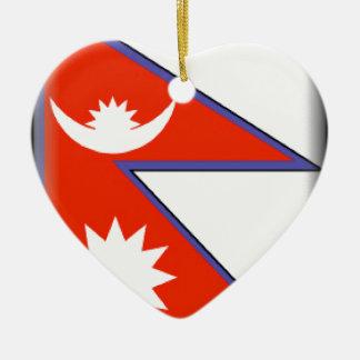 Nepal Christmas Tree Ornament