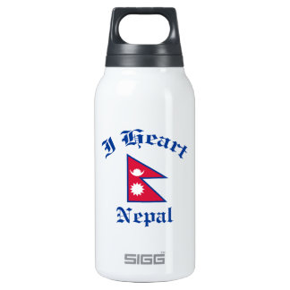 Nepal Design Insulated Water Bottle