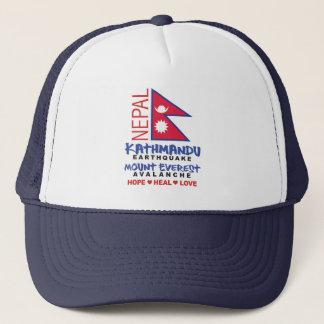 Nepal Earthquake Trucker Hat