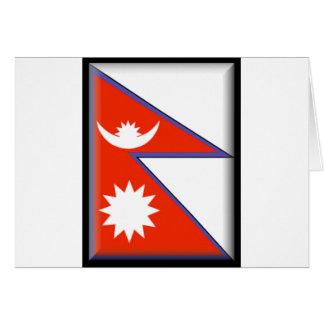 Nepal Flag Cards