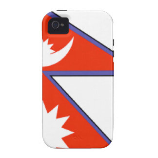 Nepal Flag iPhone 4/4S Covers