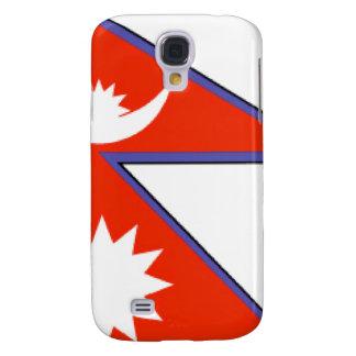 Nepal Flag Samsung Galaxy S4 Cases