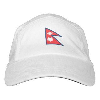 Nepal Flag Hat