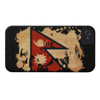 Nepal Flag iPhone 4 Cover