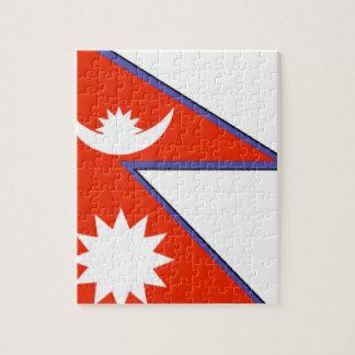 Nepal Flag Jigsaw Puzzle