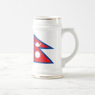 Nepal Flag Mug