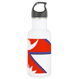 Nepal Flag 532 Ml Water Bottle