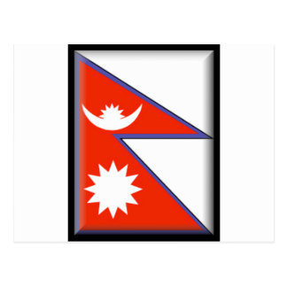 Nepal Flag Post Cards