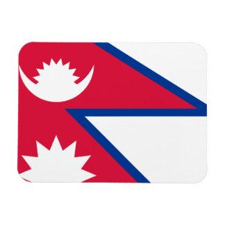 Nepal Flag Flexible Magnet