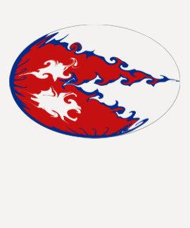 Nepal Gnarly Flag T-Shirt