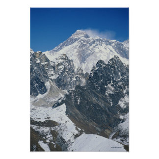 Nepal, Himalayas, view of Mt Everest from Gokyo Poster