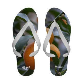 Nepal Kumquats Flip-Flops