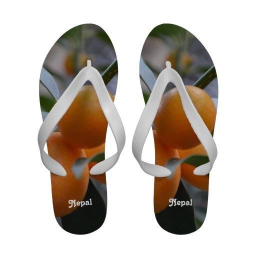 Nepal Kumquats Sandals