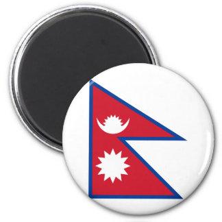 nepal 6 cm round magnet
