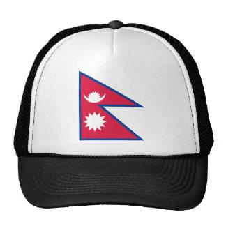 Nepal National World Flag Cap