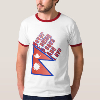 Nepal - Never Ending Peace And Love Men T-Shirt