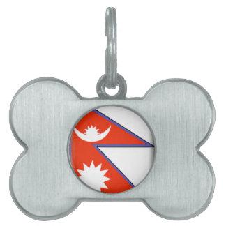 Nepal Pet Name Tags