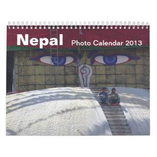 Nepal Photo Calendar 2013