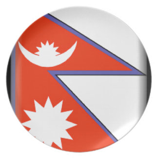 Nepal Dinner Plate