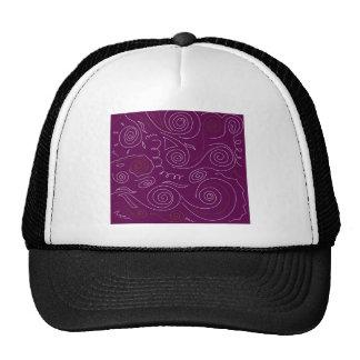 Nepal Purple ethno edition folk Cap