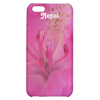 Nepal Rhododendron Cover For iPhone 5C