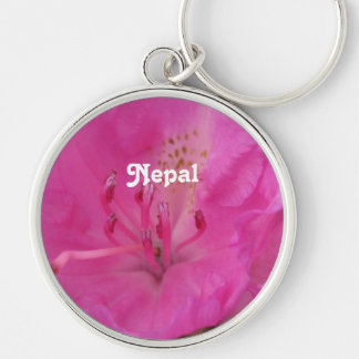 Nepal Rhododendron Key Chain