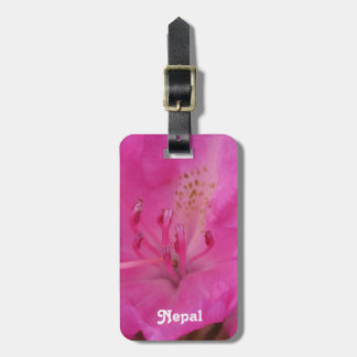 Nepal Rhododendron Tag For Bags