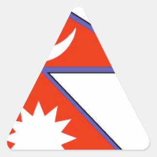 Nepal Triangle Stickers