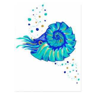 Neptune's Nautilus Postcard