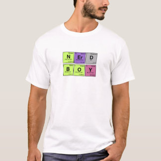 NERD BOY! Periodic Elements Scramble T-Shirt